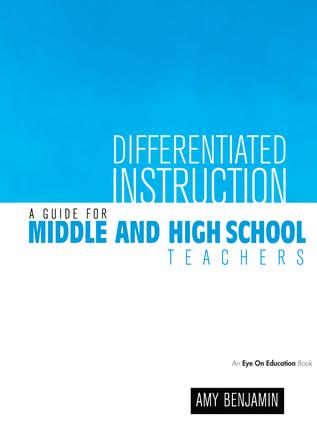 Differentiating Instruction for Independent Reading