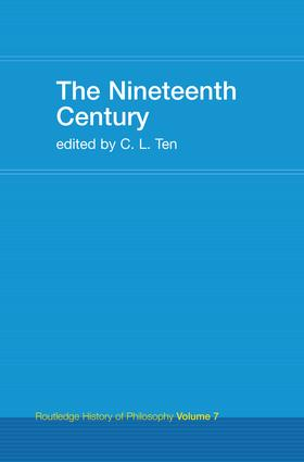 The Nineteenth Century: Routledge History of Philosophy Volume 7 book cover