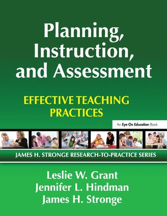 Planning, Instruction, and Assessment