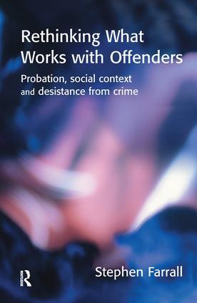 Desistance, change and probation supervision