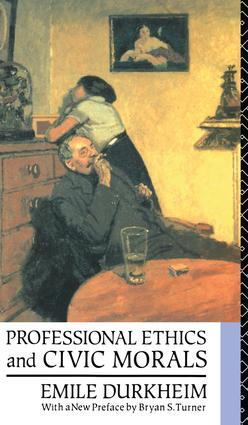 Professional Ethics and Civic Morals book cover