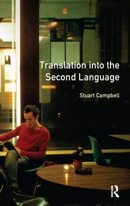 Translation into the Second Language book cover