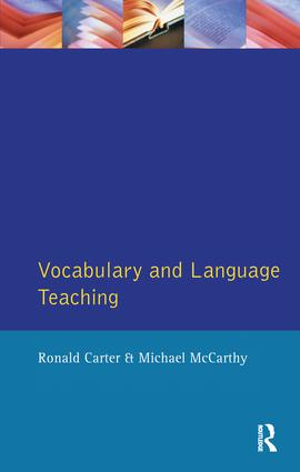 Vocabulary and Language Teaching book cover