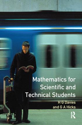 Mathematics for Scientific and Technical Students: 2nd Edition (Hardback) book cover