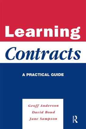 Learning Contracts: A Practical Guide, 1st Edition (Hardback) book cover