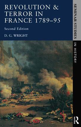 Revolution & Terror in France 1789 - 1795 book cover
