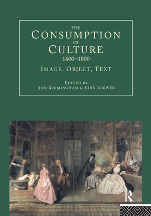 The Consumption of Culture 1600-1800