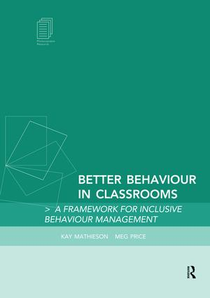 Behaviour – taught not caught, making the message clear