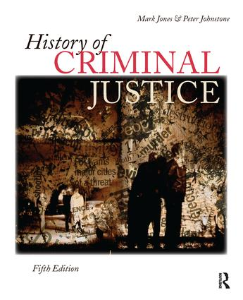 History of Criminal Justice: 5th Edition (Hardback) book cover
