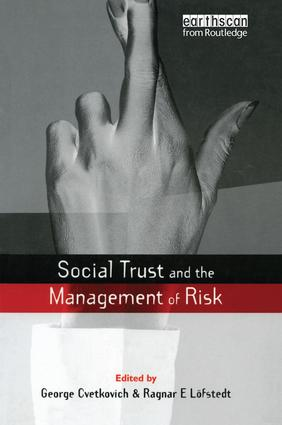 Conclusion: Social Trust: Consolidation and Future Advances