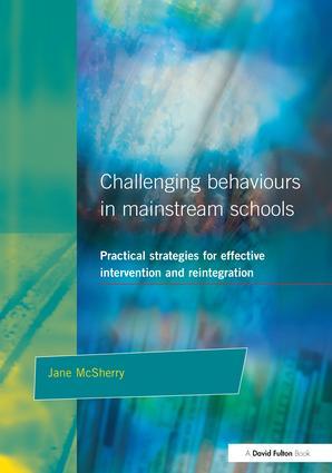 Challenging Behaviour in Mainstream Schools