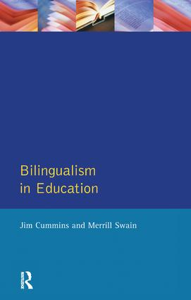 Bilingualism in Education: Aspects of theory, research and practice book cover