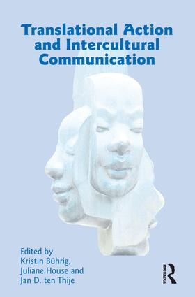 Interpreting in Hospitals Starting Points for Cultural Actions in Institutionalized Communication