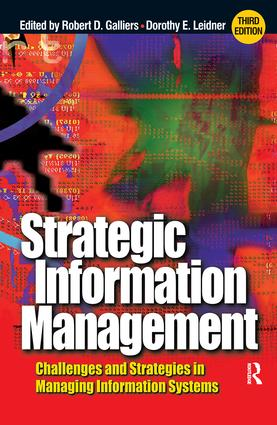 Strategic Information Management: 3rd Edition (Hardback) book cover