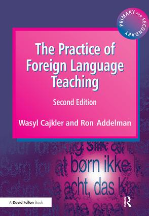 The Practice of Foreign Language Teaching: 2nd Edition (Hardback) book cover
