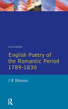an introduction to the analysis of the poetry of the english romantic period Introduction:the romantic age in england was not only critics of the romantic age as symons observes in the romantic movement in english poetry.