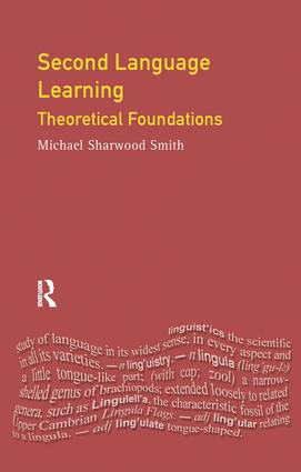 Second Language Learning: Theoretical Foundations book cover