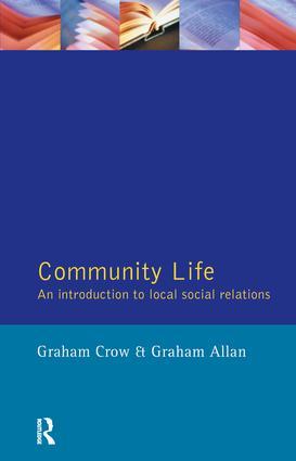 Community Life: 1st Edition (Hardback) book cover