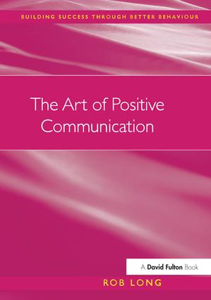 The Art of Positive Communication book cover