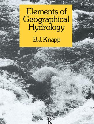 Elements of Geographical Hydrology (Hardback) book cover