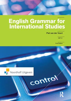 English Grammar for International Studies: 1st Edition (Hardback) book cover