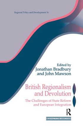 Conclusion: The Changing Politics and Governance of British Regionalism