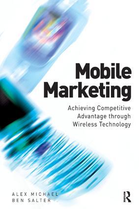 Mobile Marketing: 1st Edition (Hardback) book cover
