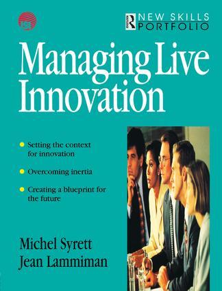 The inner drive: motivating for innovation