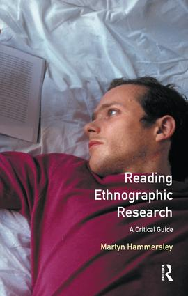 Reading Ethnographic Research: 2nd Edition (Hardback) book cover
