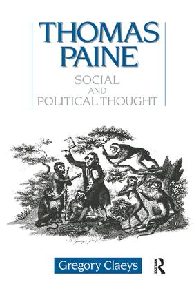 Thomas Paine: Social and Political Thought, 1st Edition (Paperback) book cover