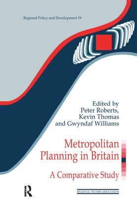The Metropolitan Planning Experience