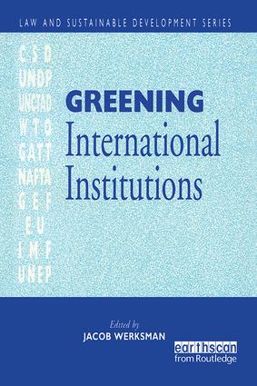 Greening International Institutions
