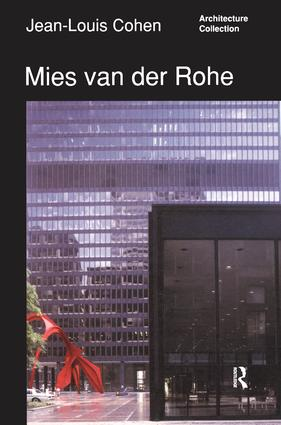 Mies van der Rohe: 1st Edition (Hardback) book cover