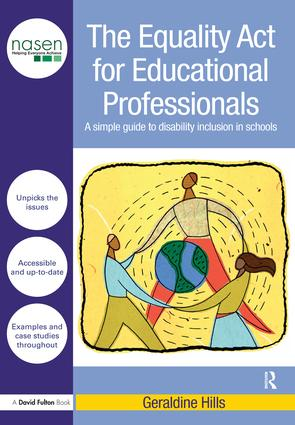 The Equality Act for Educational Professionals: A simple guide to disability inclusion in schools book cover