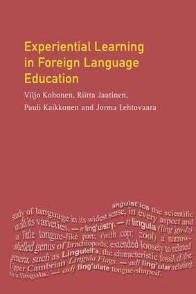 Experiential Learning in Foreign Language Education book cover