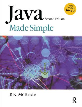 Java Made Simple: 2nd Edition (Paperback) book cover