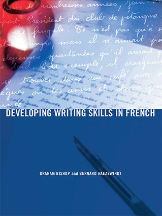 Developing Writing Skills in French book cover