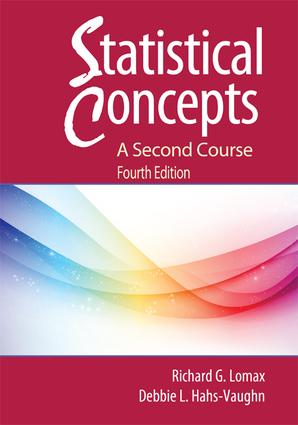 Statistical Concepts - A Second Course: 4th Edition (Hardback) book cover
