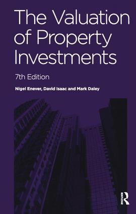 The Valuation of Property Investments: 7th Edition (Hardback) book cover