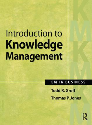 Introduction to Knowledge Management: 1st Edition (Hardback) book cover