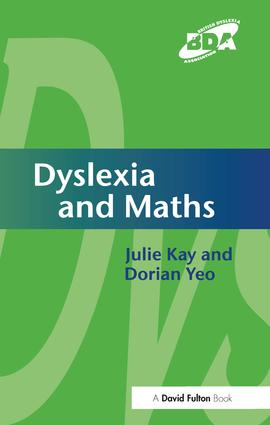 Dyslexia and Maths (Hardback) book cover