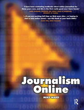 What is online journalism?