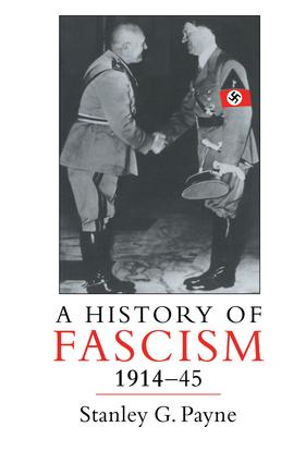 A History of Fascism, 1914-1945: 1st Edition (Paperback) book cover