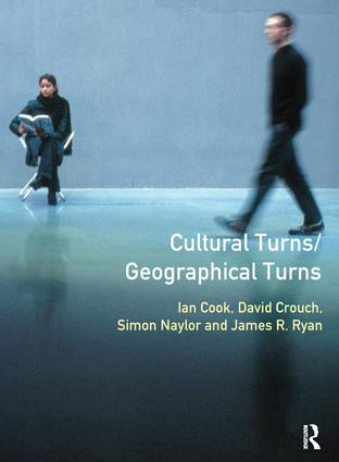 Cultural Turns/Geographical Turns