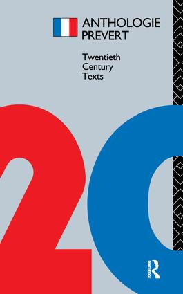 Anthologie Prévert book cover