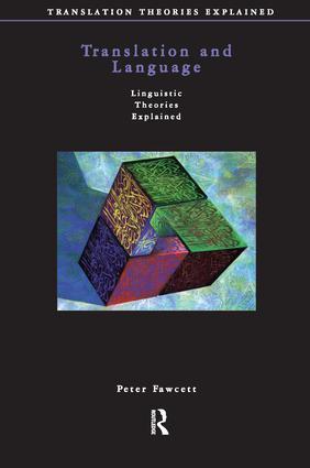 Translation and Language: 1st Edition (Hardback) book cover