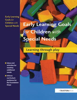 Early Learning Goals for Children with Special Needs