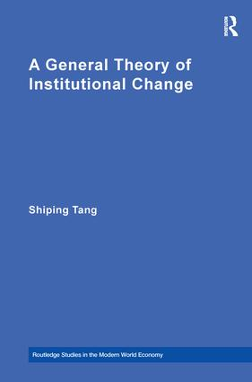 A General Theory of Institutional Change book cover