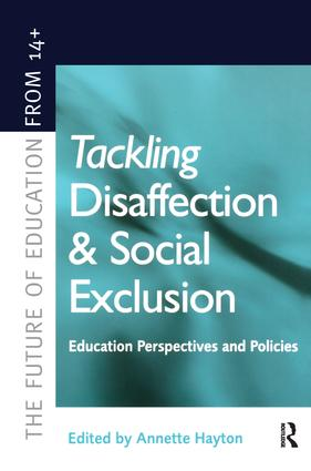 European Approaches to Social Exclusion