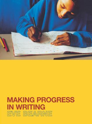 Making Progress in Writing: 1st Edition (Hardback) book cover